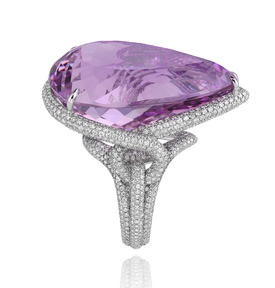 829174-1002 Kunzite Ring  from the Red Carpet Collection 2013