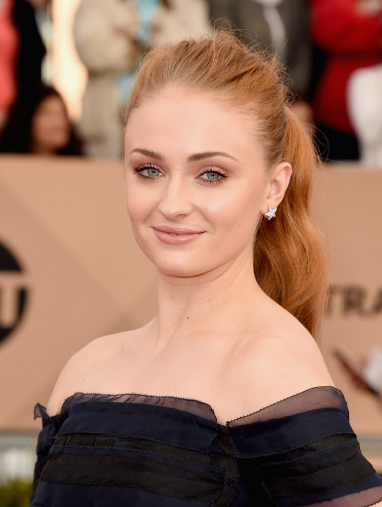 Chanel Jewelry - Sophie Turner -2016 SAG Awards