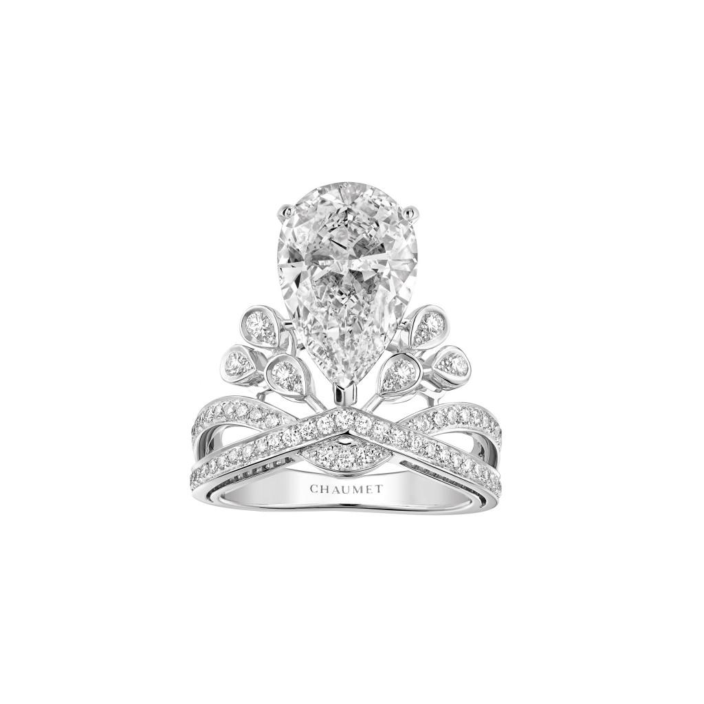 Chaumet Bridal - Aigrette Impériale Joséphine diamond ring