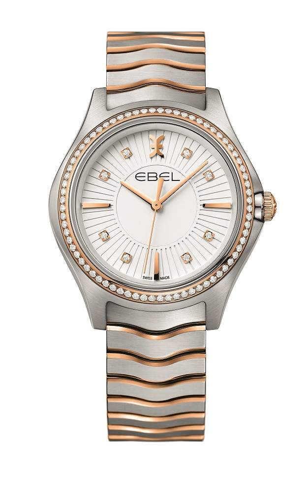EBEL Wave Lady Steel & Gold 35 mm 1216319