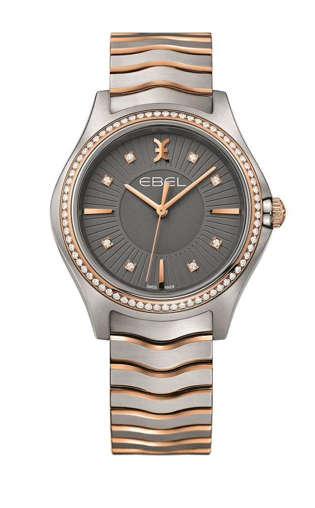 EBEL WaveLady Steel & Gold 35 mm 1216320