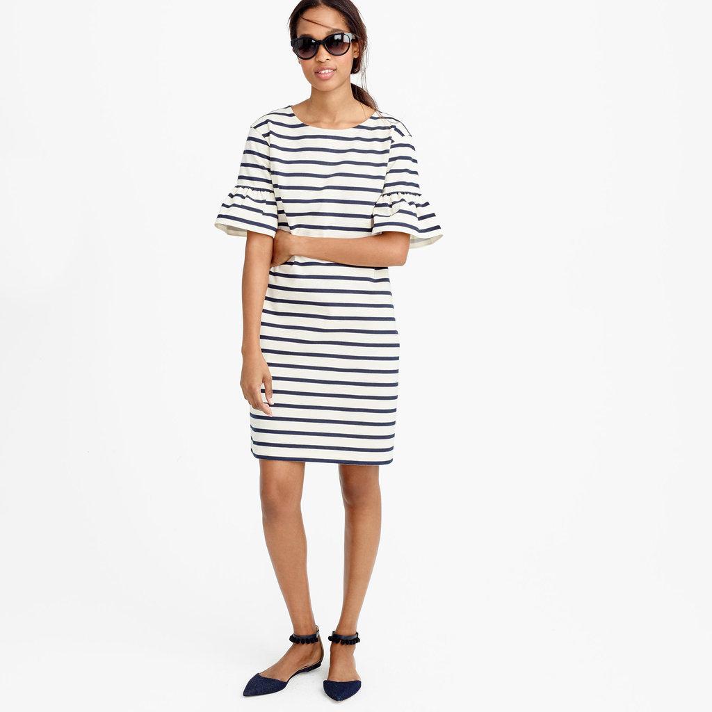 Instead-Spaghetti-Strap-Sundresses-Wear-Short-Sleeved-Shifts