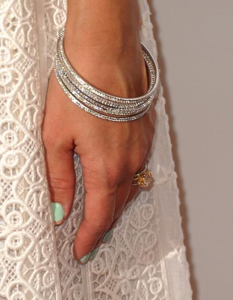 Jessica Alba Diamond Bracelet