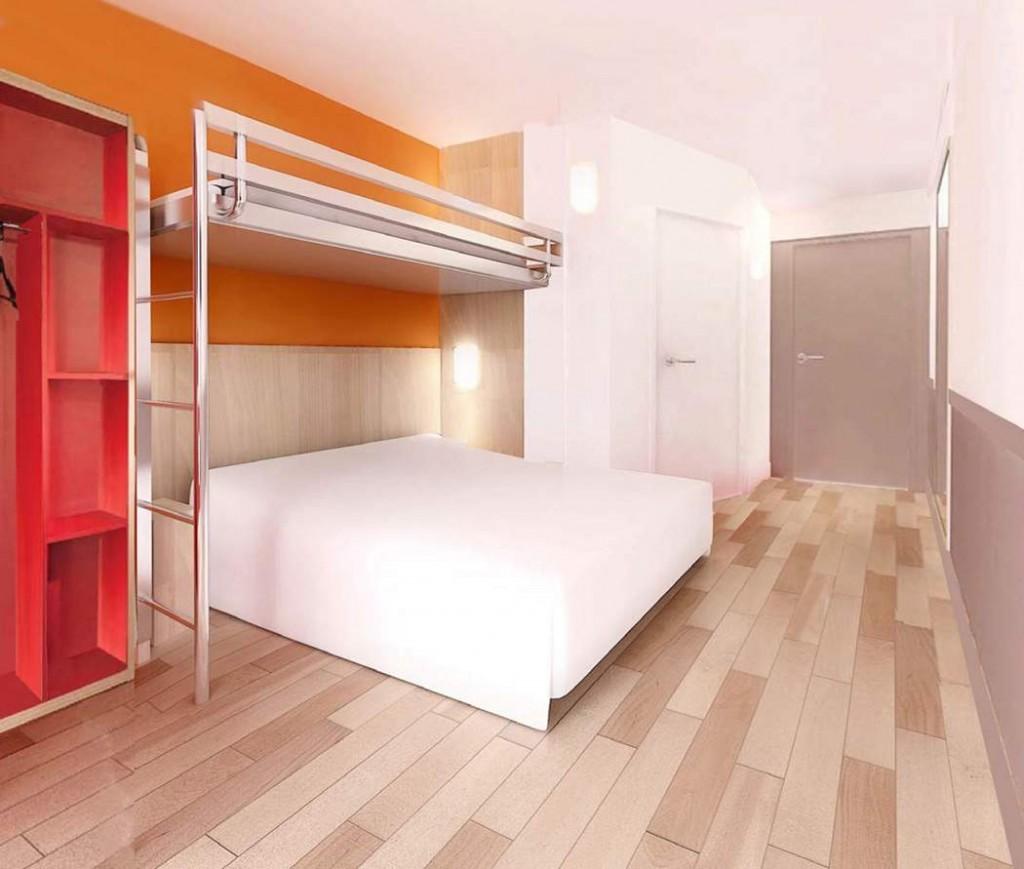 Première Classe Room new rendering