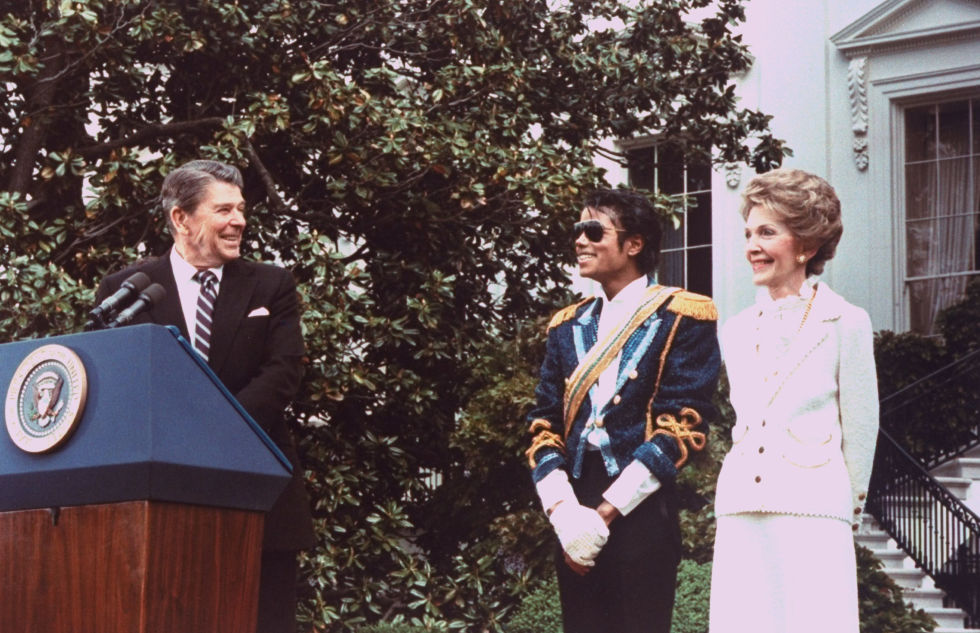 Ronald Reagan and Michael Jackson