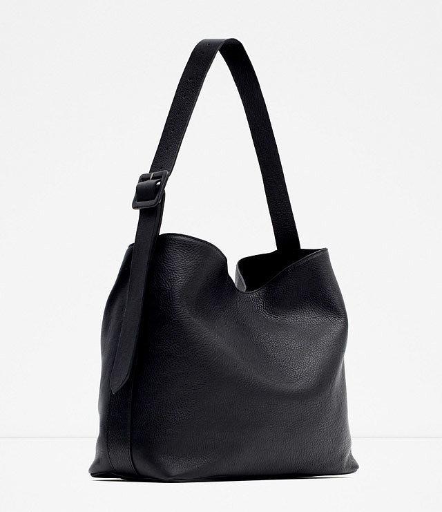 Zara-Leather-Bucket-Bag-w-Buckle-119