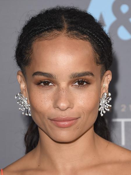 Zoe Kravitz - Dior Chandelier Earrings