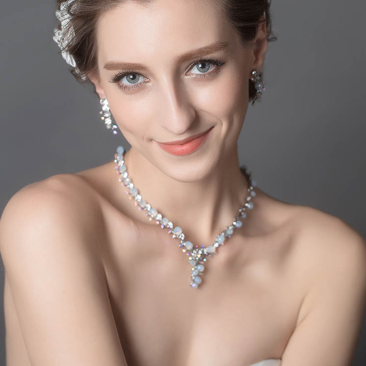 glass-pearl-necklace-earring-set-bridal-jewelry-set-crystal-spray-1