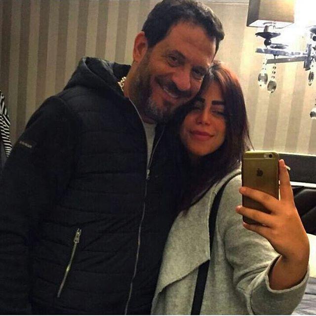 ماجد المصري مع ابنته ماهيتاب