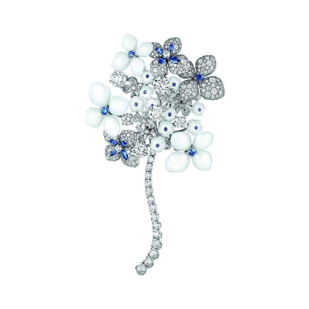 resized_Chaumet - Hortensia Voie Lactee - High jewellery - Brooch