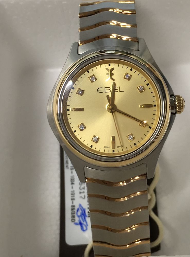 resized_EBEL Wave Lady Quartz Steel & Yellow Gold 1216317