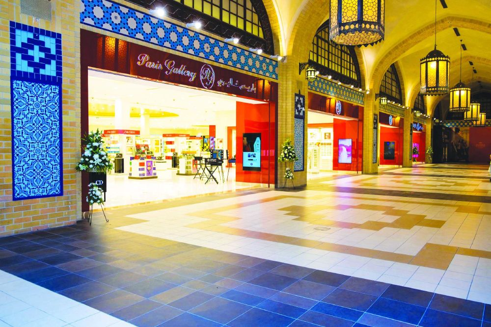 resized_Paris Gallery, Ibn Battuta Mall (Persia Court)