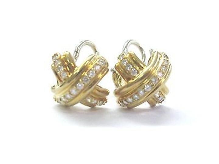 tiffany-and-co-tiffany-co-18kt-signature-x-diamond-yellow-gold-earrings