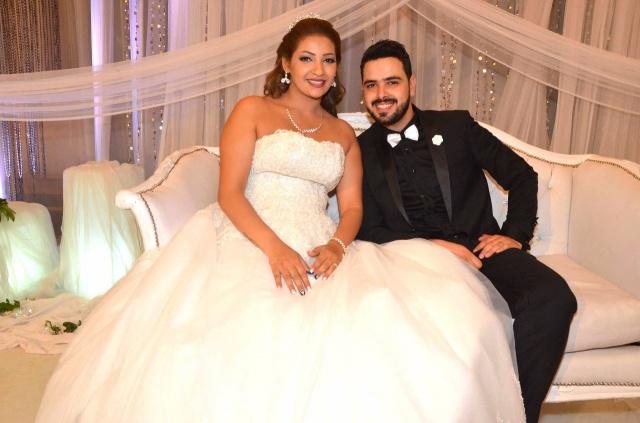 عمرو و احمد سعد يحتفلان بزفاف شقيقتهما (13)