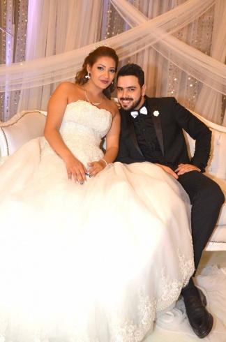 عمرو و احمد سعد يحتفلان بزفاف شقيقتهما (14)