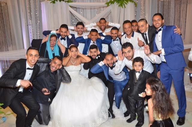 عمرو و احمد سعد يحتفلان بزفاف شقيقتهما (15)