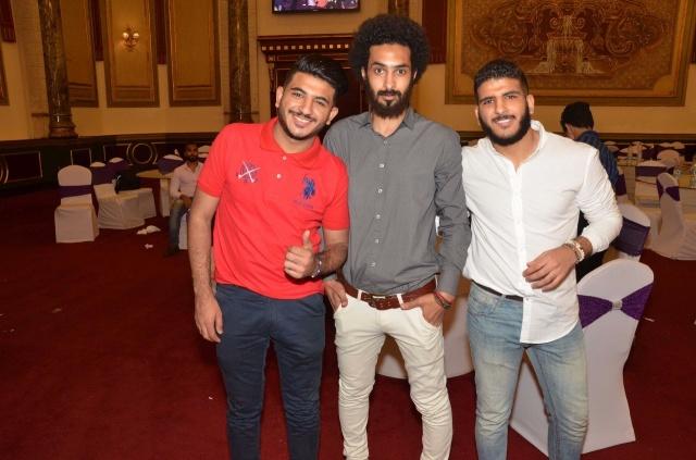 عمرو و احمد سعد يحتفلان بزفاف شقيقتهما (17)