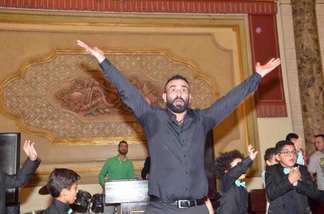عمرو و احمد سعد يحتفلان بزفاف شقيقتهما (7)