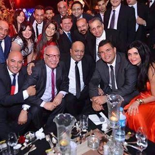فرح السبكي يجمع عمرو دياب وغادة عادل