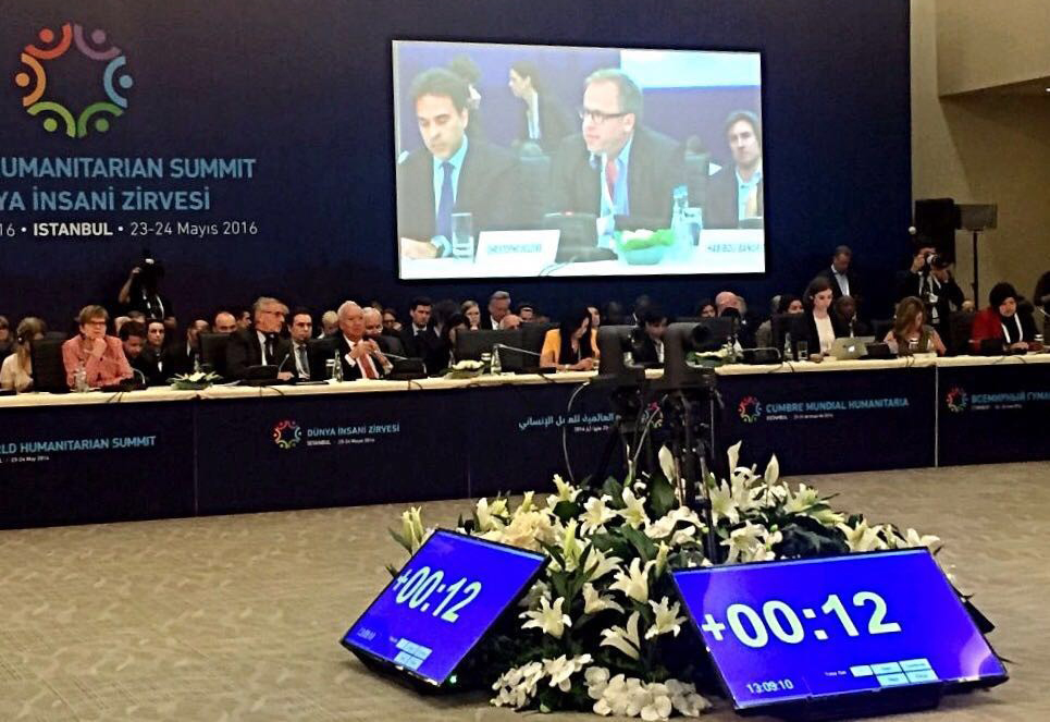 MBC Hope at the 1st. World Humanitarian Summit in Istanbul, Turkey - Panel (2)