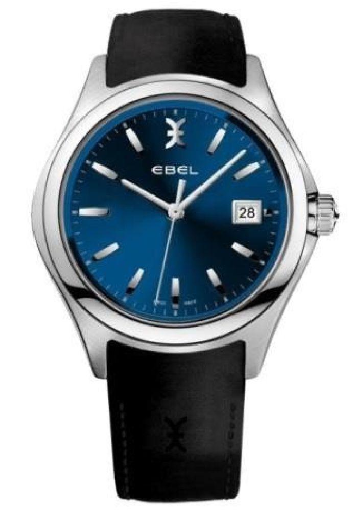 resized_EBEL Wave Blue Gent Quartz Stainless Steel 1216329