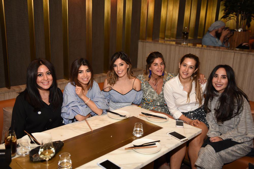 resized_Huda Al Nuaimi, Al Amira Noor Bani Hashim, Tala Samman, Aya Tabari, Noor Tahini, Dana Hourani