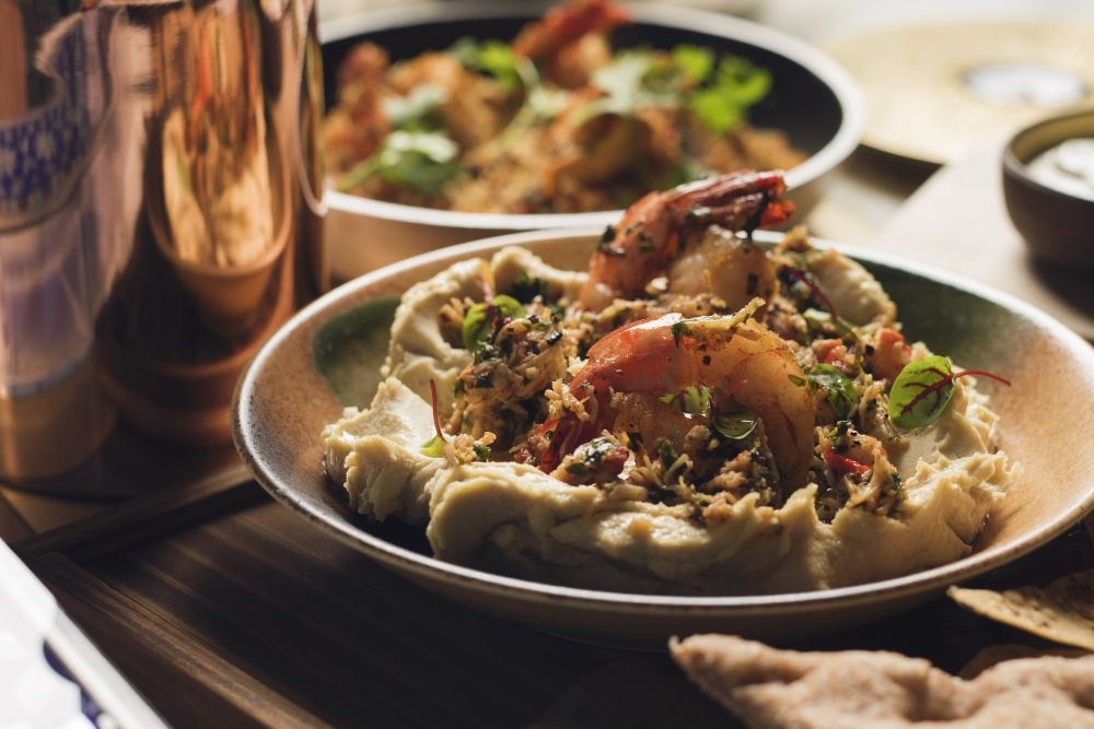 resized_Hummus Crustacean and Crispy Pita.