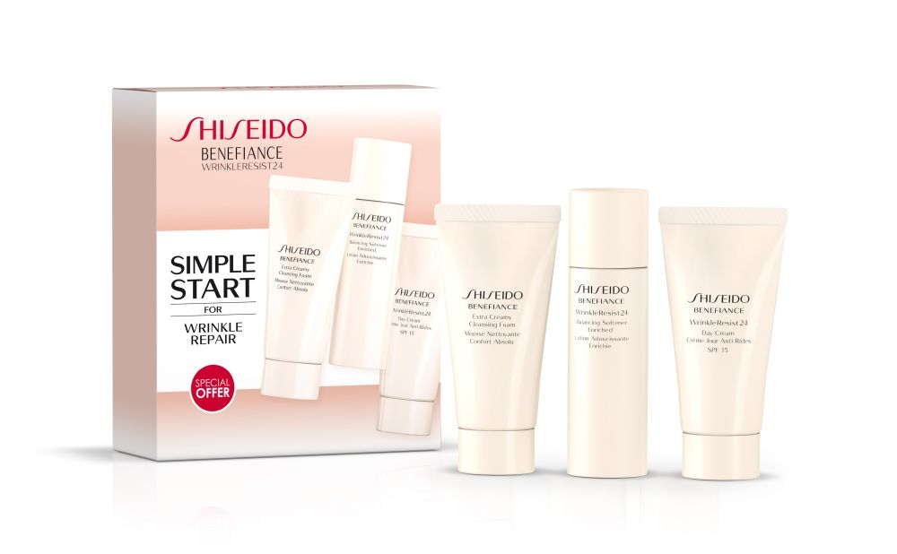 resized_Shiseido Benefiance Wrinkle Resist24 set (AED 434)
