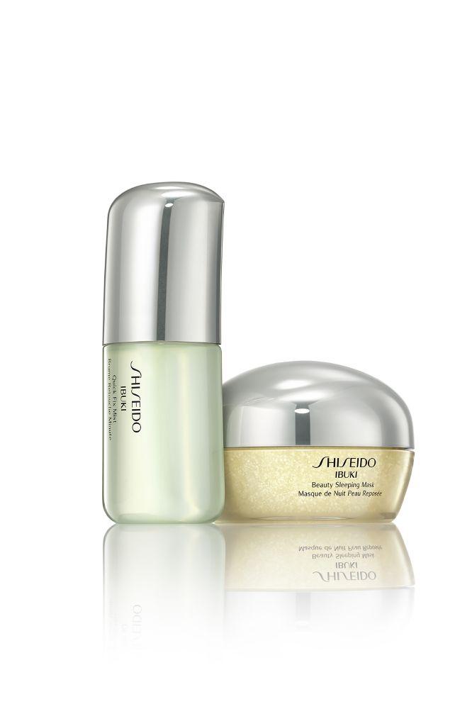 resized_Shiseido Ibuki Sleeping Mask, Quick Fix Mist