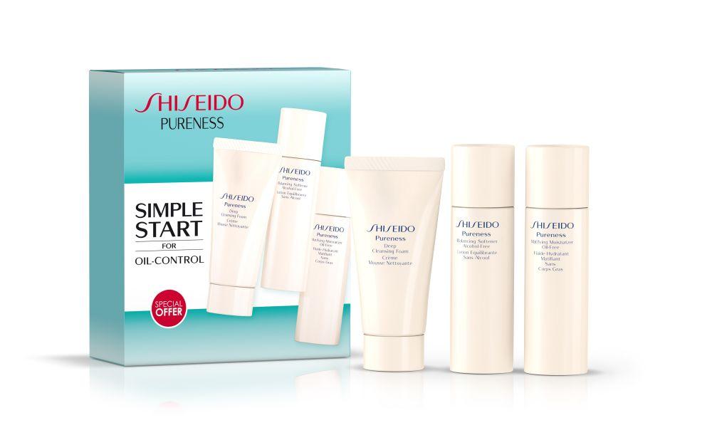 resized_Shiseido Pureness Starter Kit (AED132)