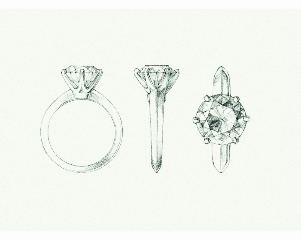 resized_Sketch of the Tiffany® Setting