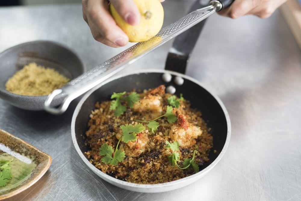 resized_Warm Quinoa with Harissa and Tensi Ebi