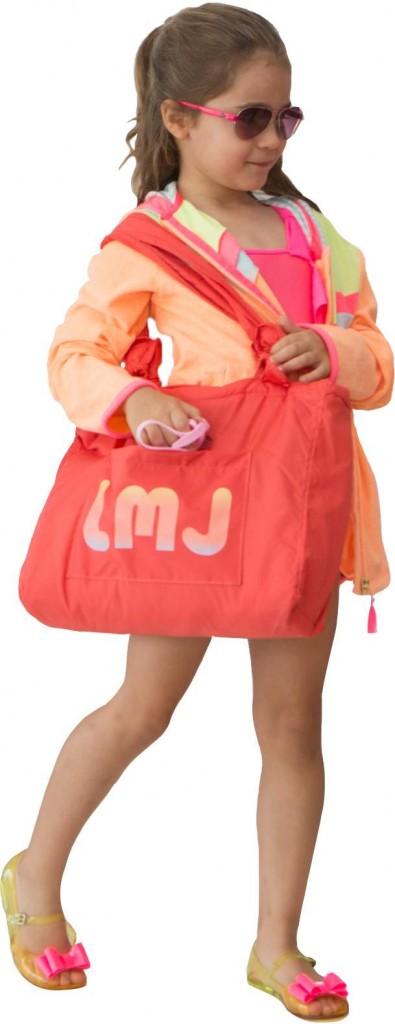 All Billie Blush - LMJ beach bag