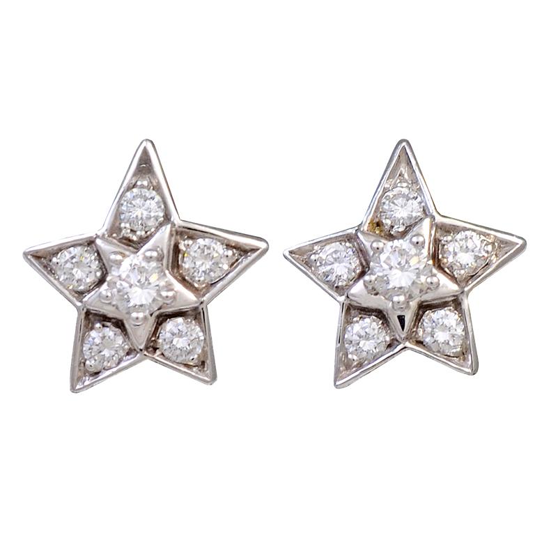 Chanel Diamond Studs