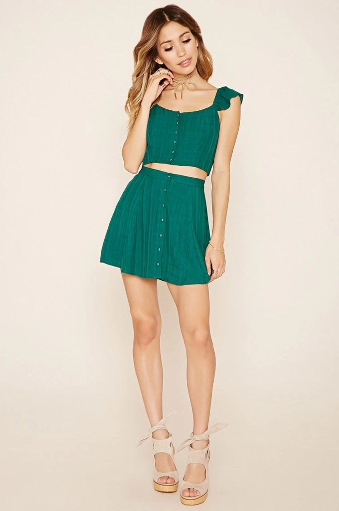 Forever-21-Button-Front-Crop-Top-15-Mini-Skirt-15