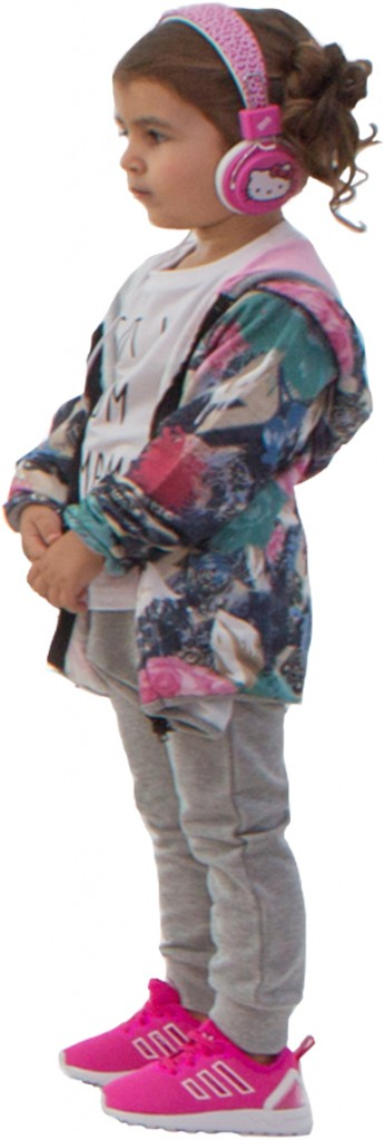Little Bluffers jogging pants and t-shirt - Happiness Hoodie - Adidas shoes