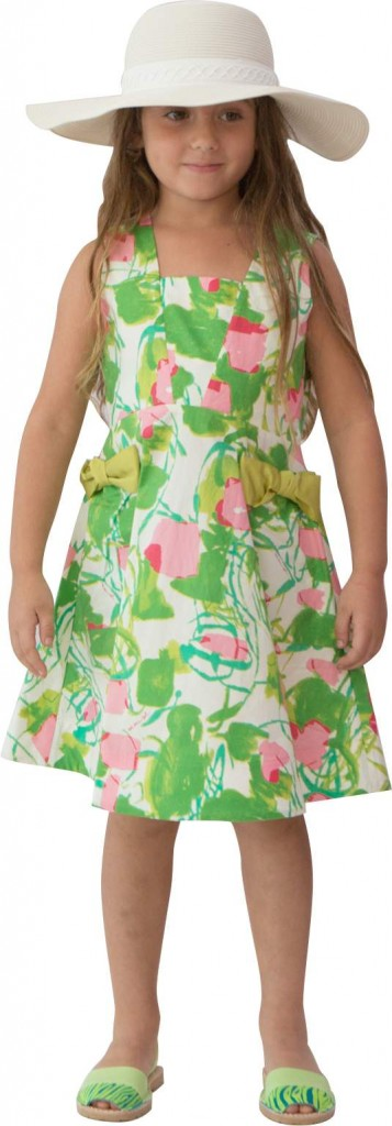 Mimisol Dress - Castel Sandals - Chloe Hat