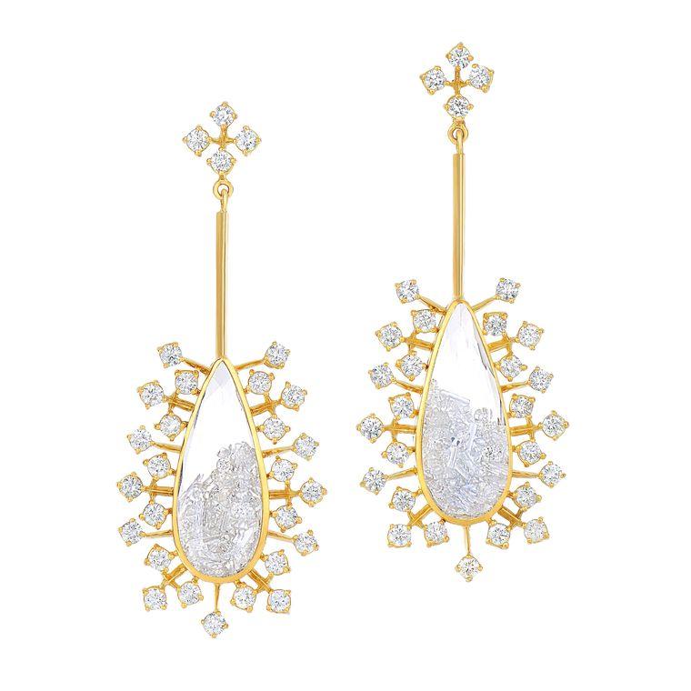 morris_glik_yellow_gold_diamond_sapphire_earrings