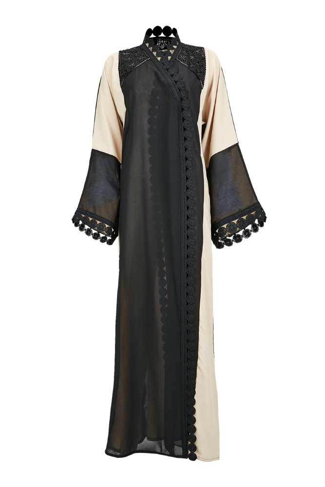 resized_Namshi, Haya's Closet (black & tan), AED375