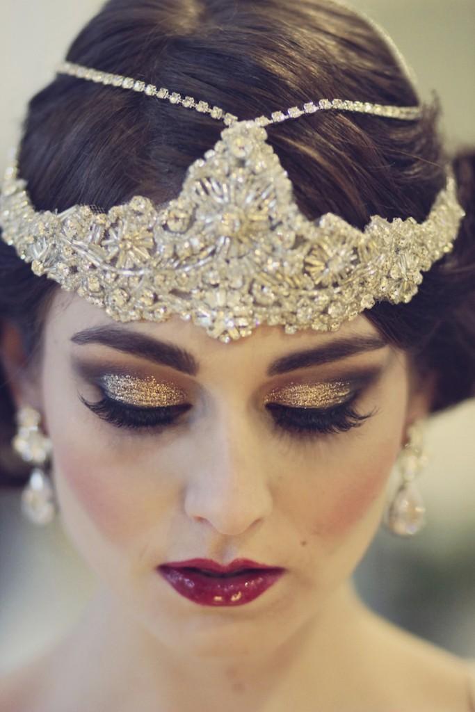 العروس العصرية التي ترغب في الحصول على مكياج عصري