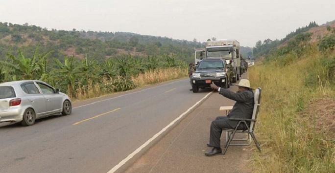 رئيس أوغندا  (1)