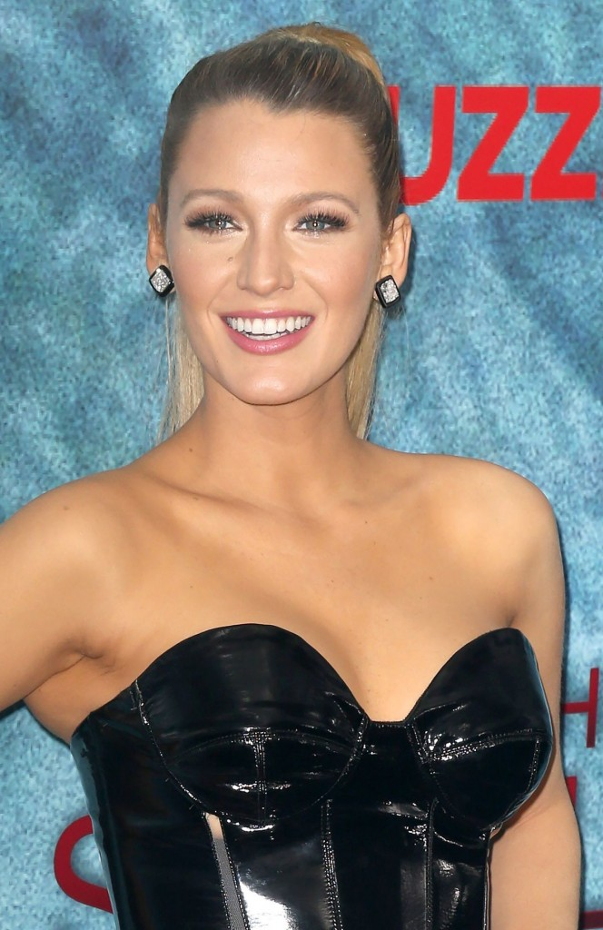 Blake Lively at the world premiere of The Shallows