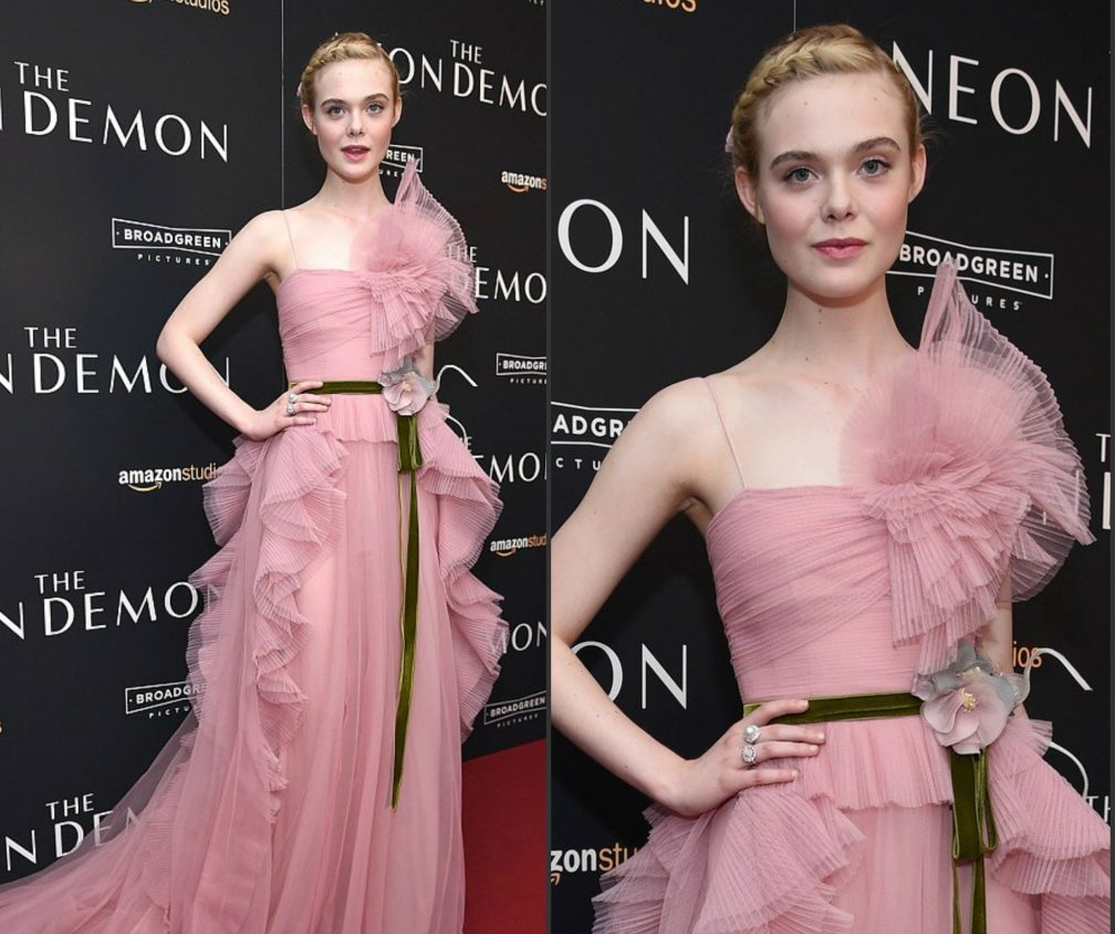 Elle Fanning at the New York Special Screening of The Neon Demon