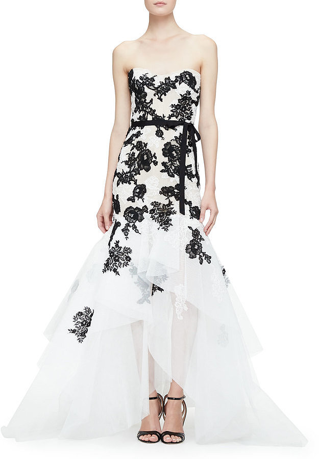 Monique-Lhuillier-Strapless-Embroidered-Lace-Gown-5995