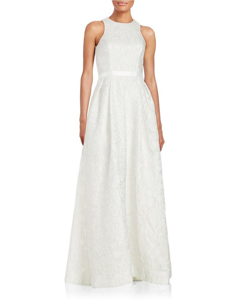 Monique-Lhuillier-Textured-Sleeveless-Gown-898