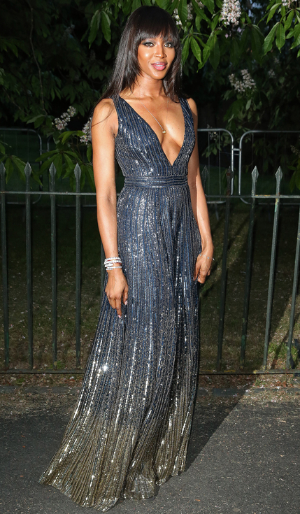 Naomi Campbell at The Serpentine Gallery Summer Party 2016
