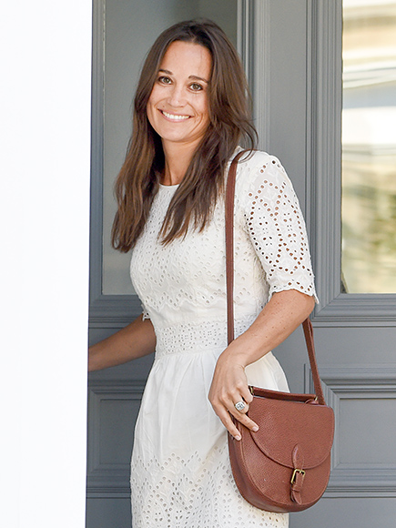 Newly engaged Pippa Middleton