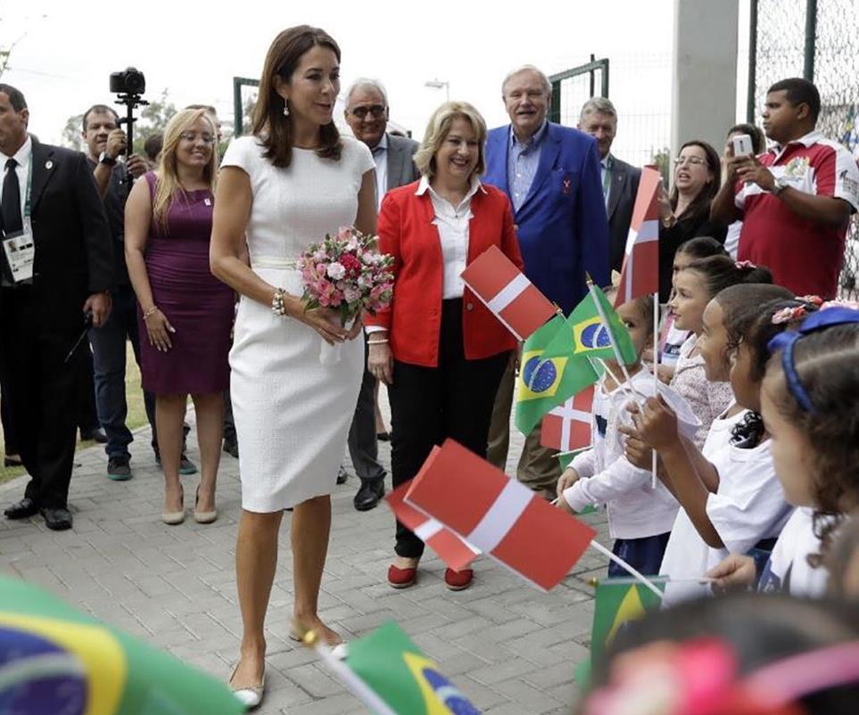 الأميرة ماري ستشجع الأستراليين في أولمبياد ريو 2016 (1)