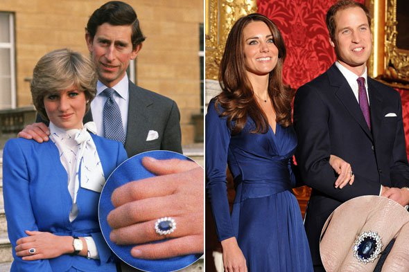 خاتم الأميرة ديانا