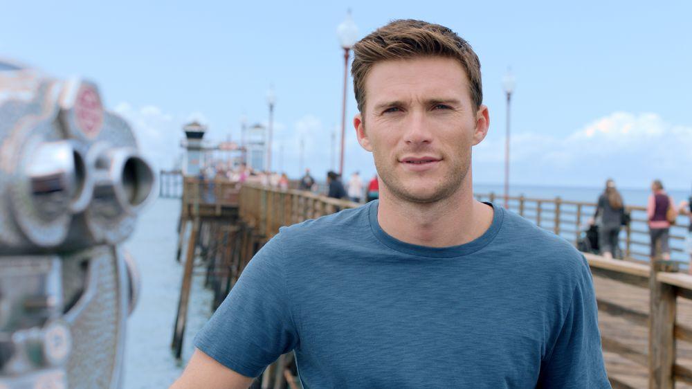 resized_Scott being interviewed on Oceanside Pier